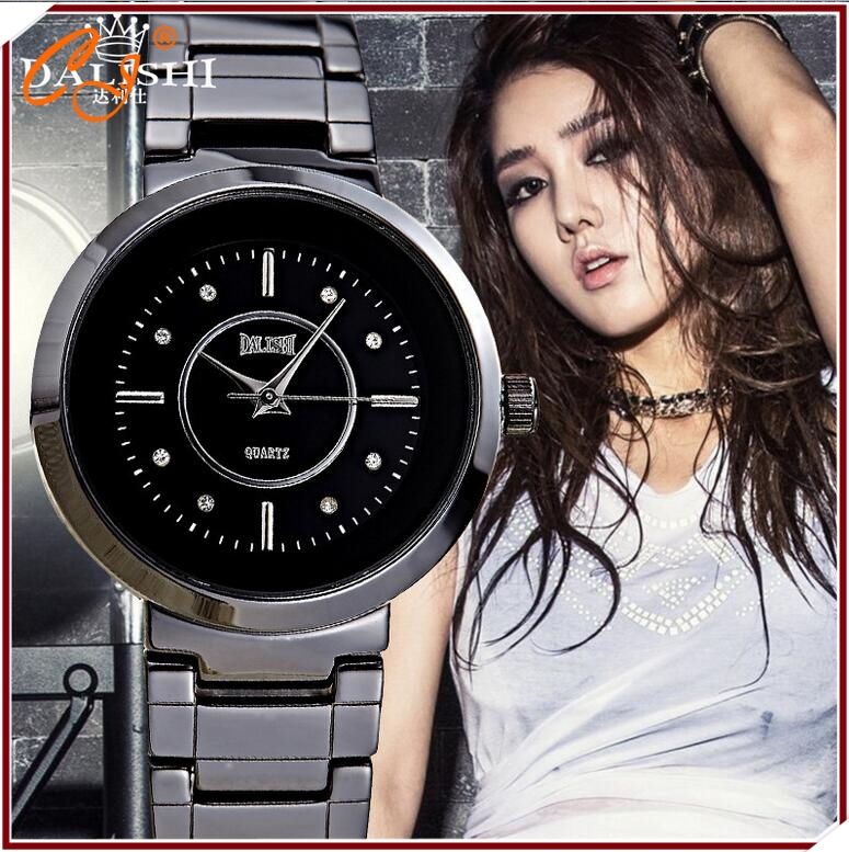 Couples for table space quality ceramic machine imported from Japan female table 30 m waterproof quartz watch<br><br>Aliexpress