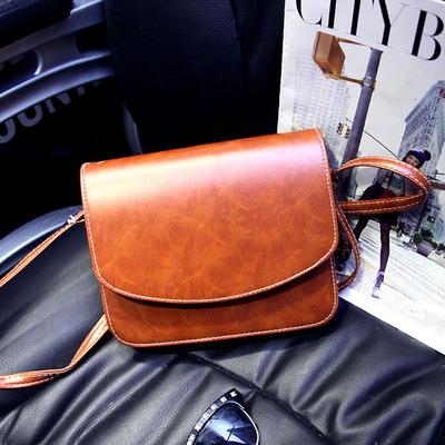British retro fashion handbags 2016 new minimalist trend small shoulder bag Messenger bag small bag(China (Mainland))