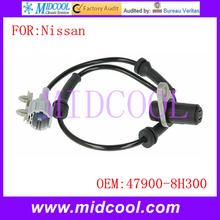 New ABS Sensor Wheel Speed Sensor use OE No. 47900-8H300 for Nissan X-Trail(China (Mainland))