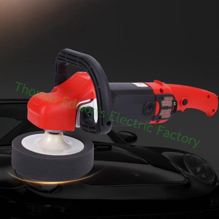 1280w Car waxing machine polisher 220V car beauty glazing sealing machine bench electric floor polishing machine(China (Mainland))