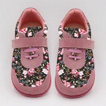 TipsieToes מותג באיכות גבוהה אופנה בד תפרים ילדים ילדי נעלי בנים ובנות 2019 אביב יחף סניקרס(China)