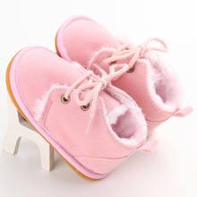 2017 מותג חדש פעוט תינוק שזה עתה נולד תינוק חורף ילדה ילד נעליים חמות מגפי שלג פרווה מזדמן נעלי Leopard ראשון הליכונים 0-18 M(China)