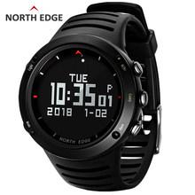 BORDA DO NORTE esporte Digitais dos homens relógio Horas de Funcionamento da Natação dos homens relógios desportivos Altímetro Bússola Termômetro Barômetro Tempo(China)