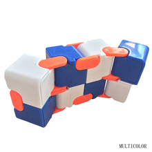 Buy Infinity Cube New Style Spinner Fidget High Anti Stress Plastic Kids Finger Toys Luxury Hot Adult EDC ADHD Gifts for $2.92 in AliExpress store